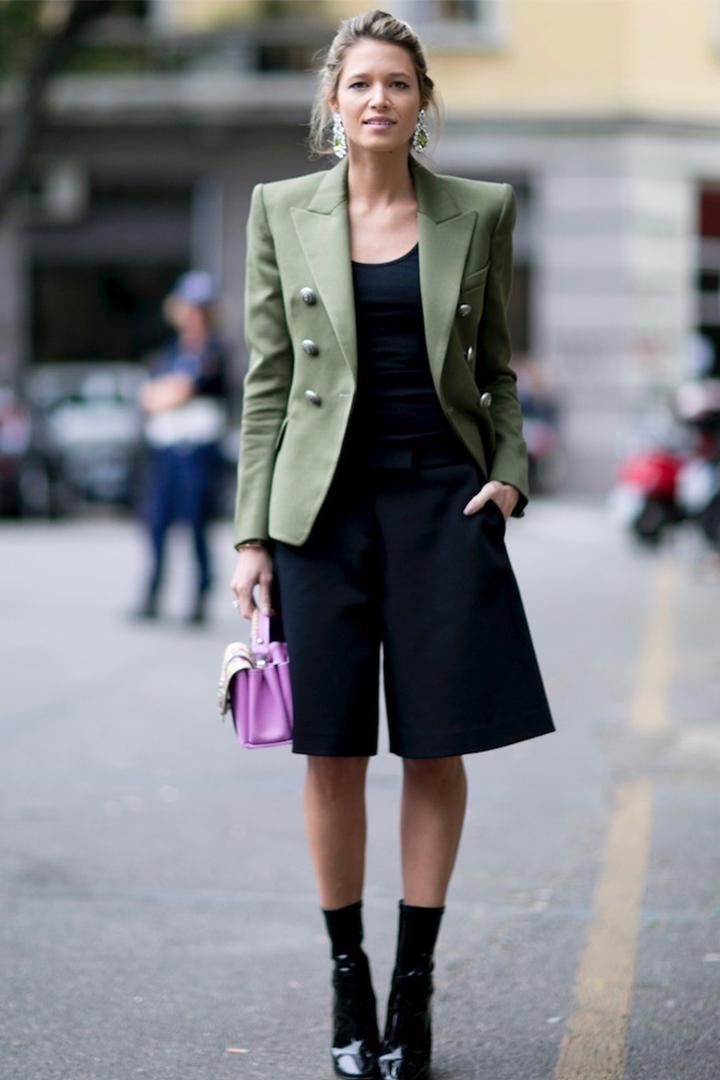 Ways to wear a blazer in summer