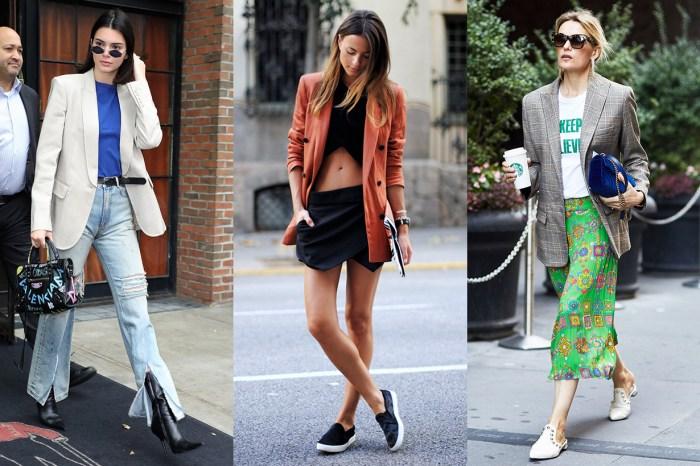 夏天還這麼漫長,潮人已忍不住試遍西裝外套的混搭法!