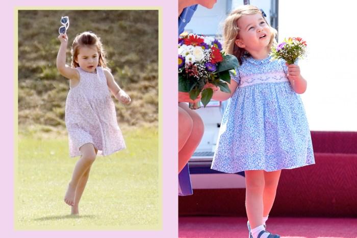 為什麼夏洛特小公主只能穿洋裝?原來英國皇室還有這樣的「潛規則」!