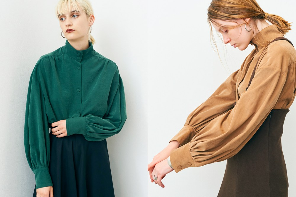 Ena Matsumoto clane 2018 aw trench coat cap shirt pants
