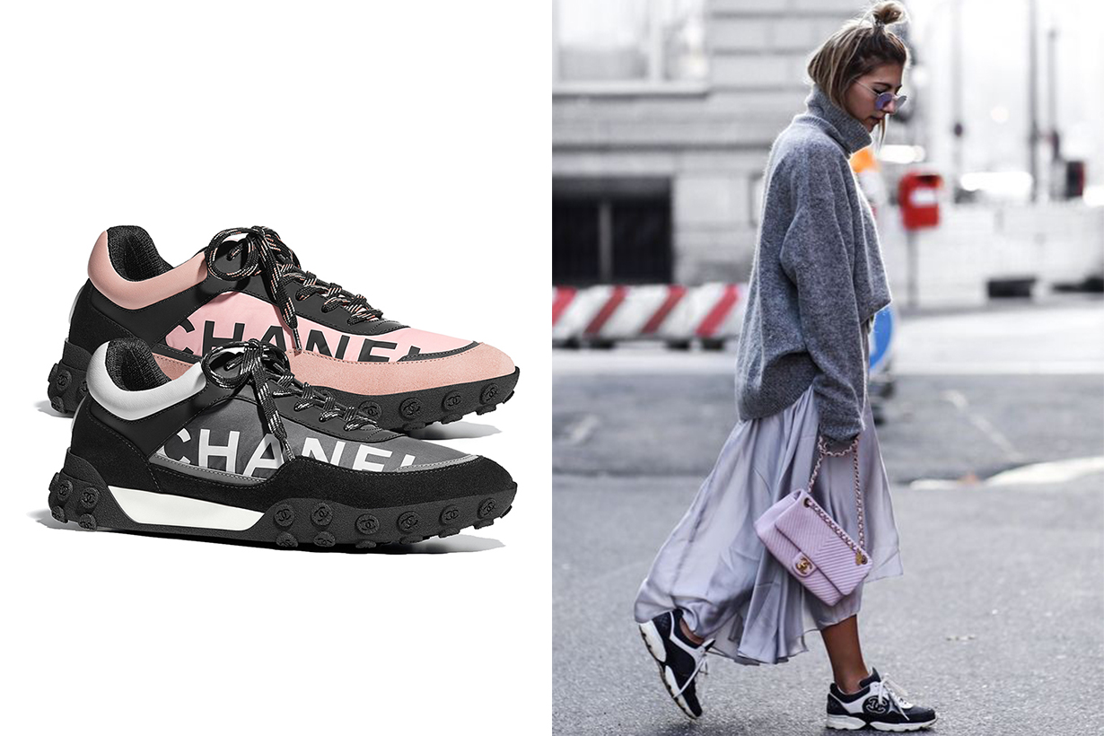 Chanel new sneakers mix and match