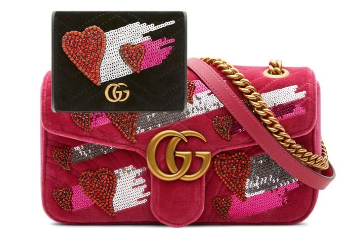預祝情人節快樂!Gucci 為七夕推出限量版手袋