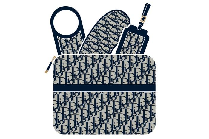 為奢華旅人而設的 Dior 旅行套裝,在頭等艙拿出來也絕不失禮!