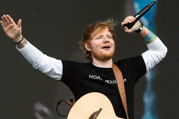Ed Sheeran 一個甜蜜動作,洩露已經秘密結婚!