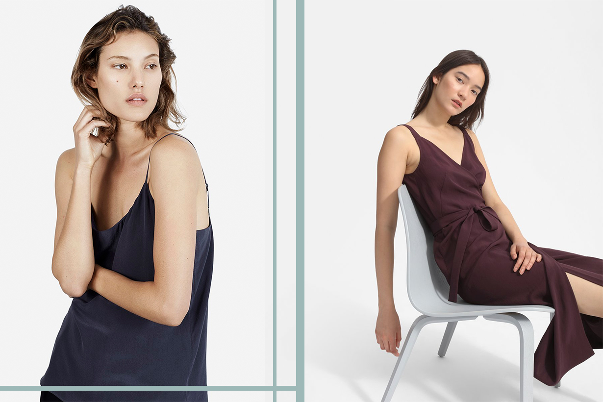 Everlane is launching  'CLEAN SILK' collection