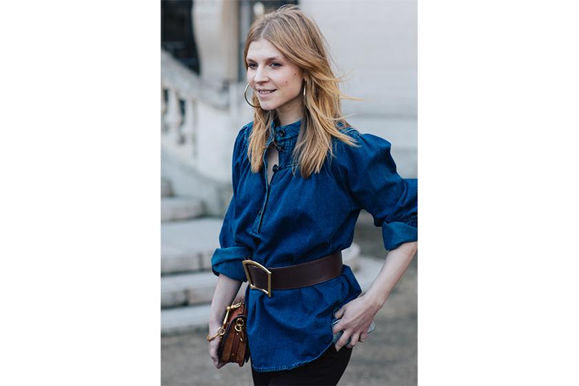 Clémence Poésy French Style Belt