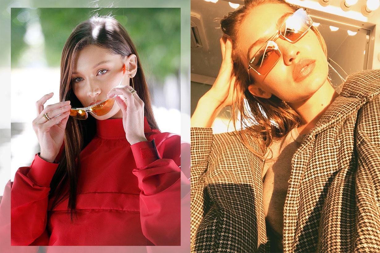 Image of Gigi 及 Bella Hadid 把這款太陽眼鏡戴紅了!齊來挑戰 Micro Sunglasses