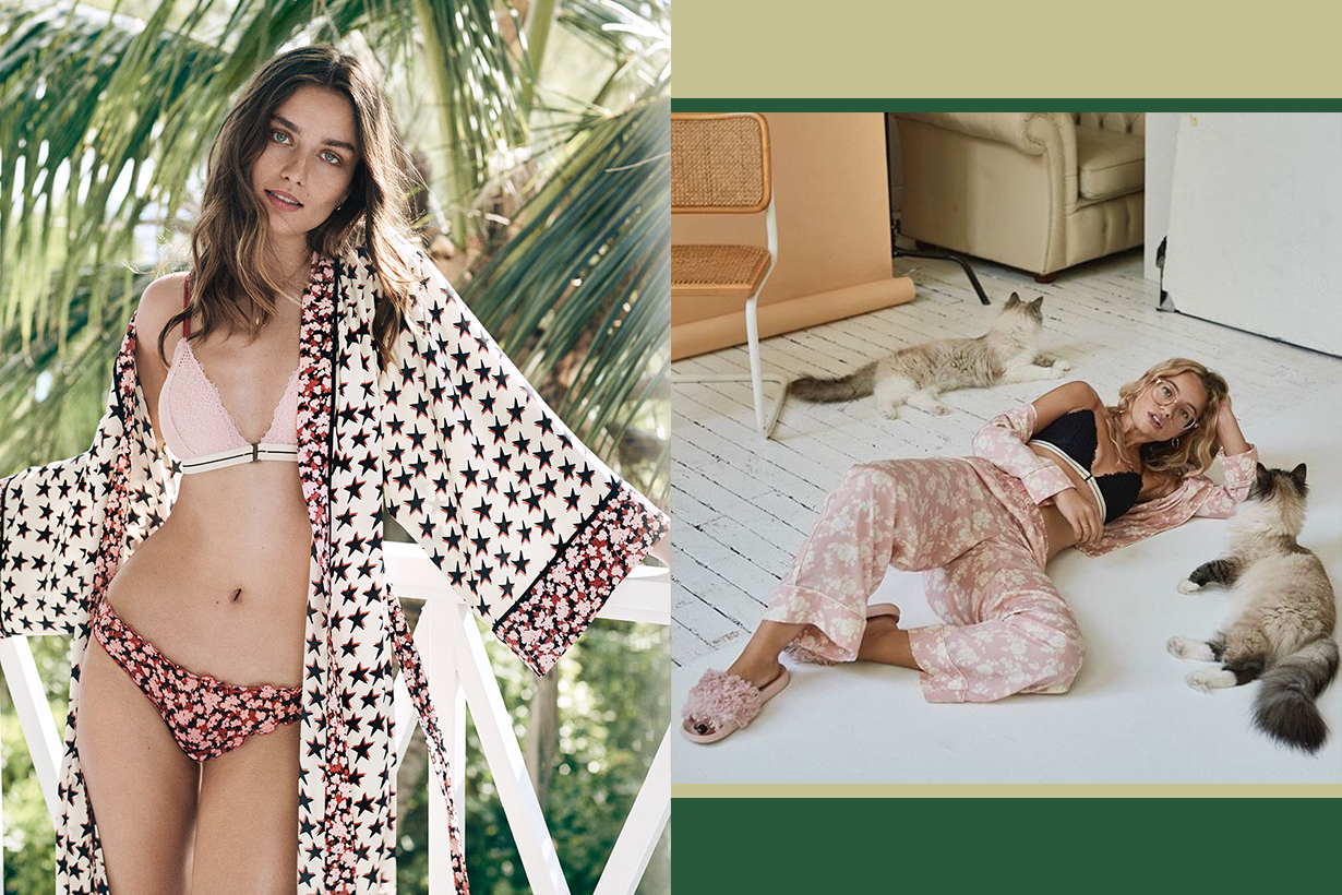 H&M Love Stories pajamas collection 2018