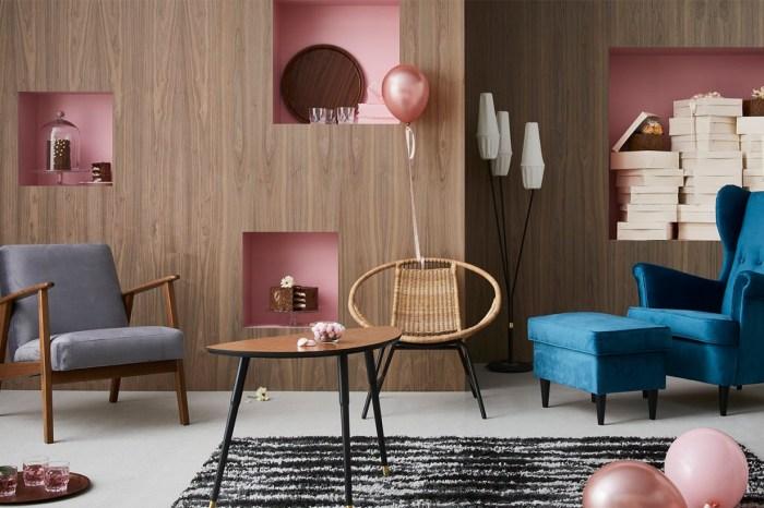 Ikea 為 75 週年推出復古系列,讓人重溫 50 年代到千禧時代的經典家品!