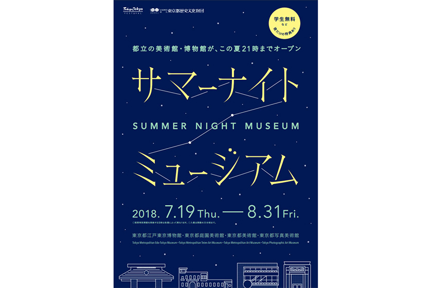 Japan Travel Summer Night Museum 2018