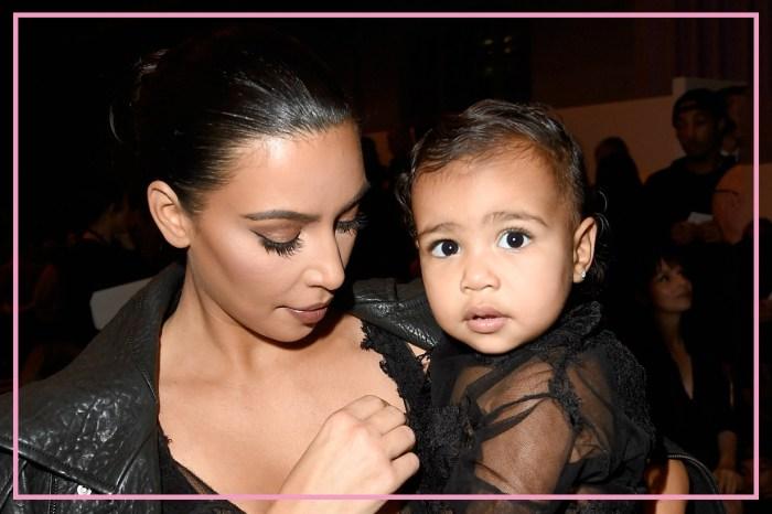 身為卡戴珊的悲哀?Kim 與女兒共餐,卻因為「這原因」只能分桌吃