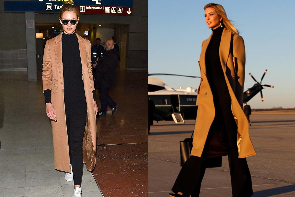 Karlie Kloss and Ivanka Trump Twins Style