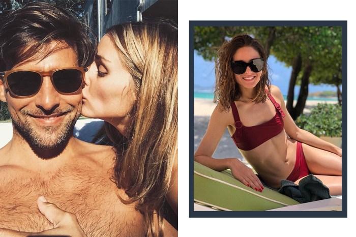 名媛 Olivia Palermo 上載泳衣照!與丈夫小島度假超有愛