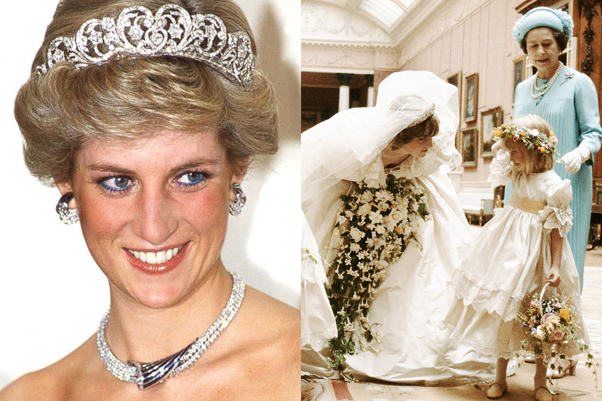 Princess Diana had a secret second wedding dress