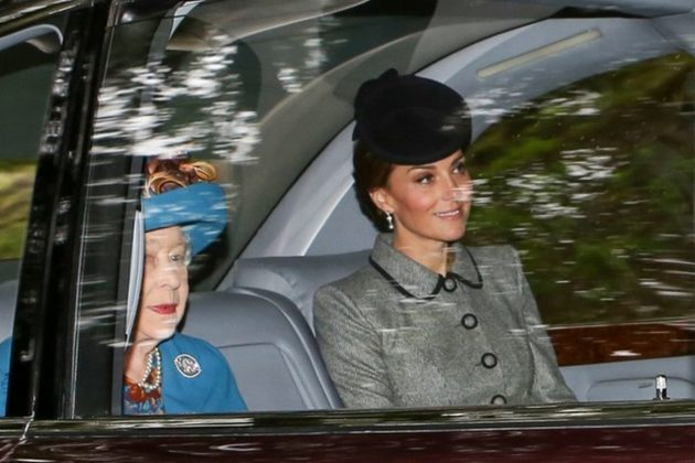 Kate Middleton Borrows Queen's Pearl Earrings