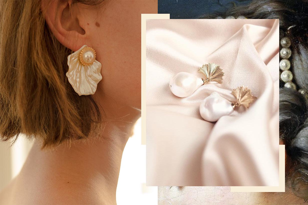 Pearl Earrings Trend 2018