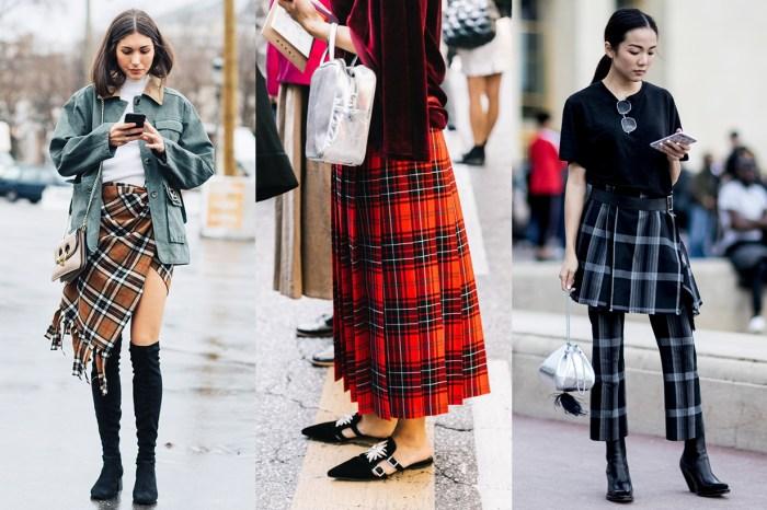 格仔裙這麼經典又時髦,卻總是給人扮演學生的感覺?讓時尚達人 20+教你怎樣穿!