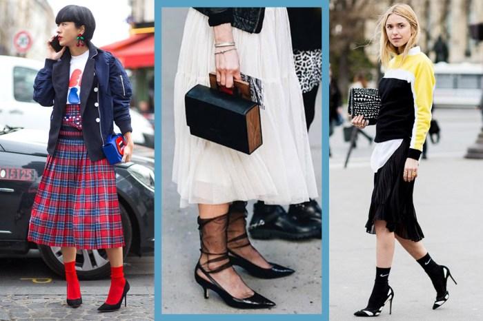 時尚女生短襪穿搭 30+:即使鞋櫃只有一雙高跟鞋,也要靠不同襪子來變換風格!