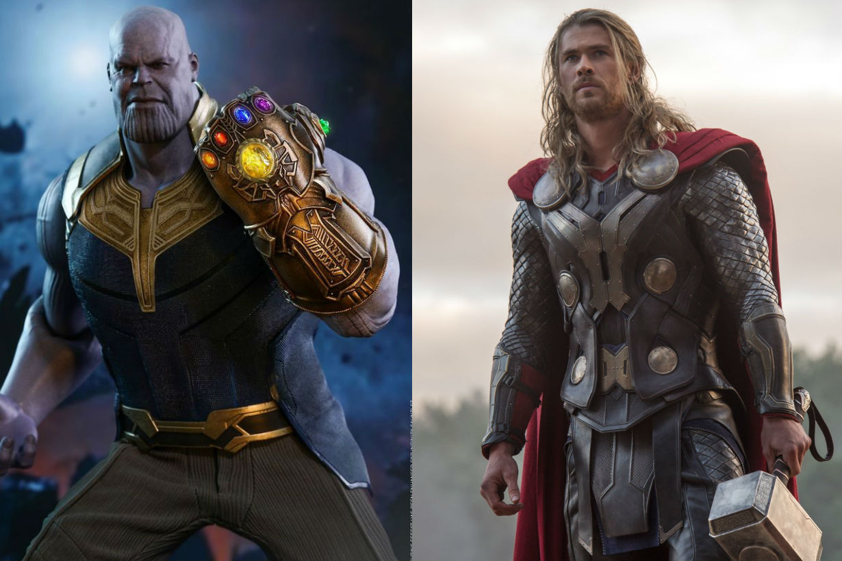 thanos Josh Brolin chris hemsworth thor happy birthday song