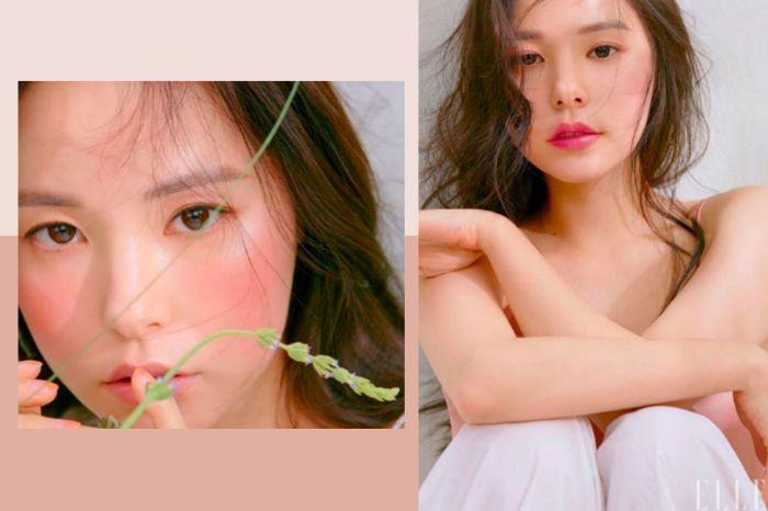閔孝琳登時尚雜誌美照連發,太陽嫂的「無辜妝容」必須跟上!