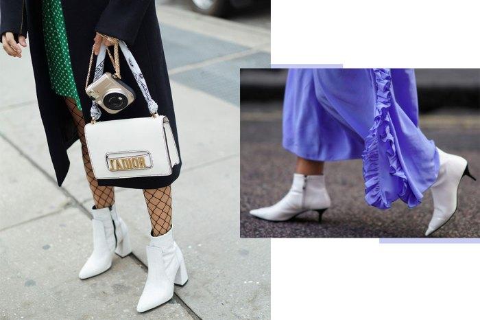 白色短靴是顯高恩物?簡單小撇步讓時尚感飆升!