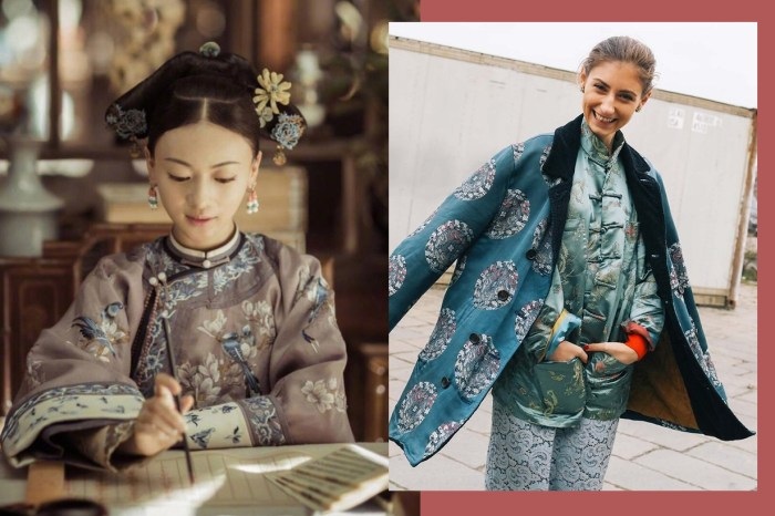 《延禧攻略》的清代宮廷美學,放到今天的時尚雜誌也不過時!