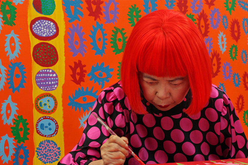 Yayoi Kusama documentary infinity and quote