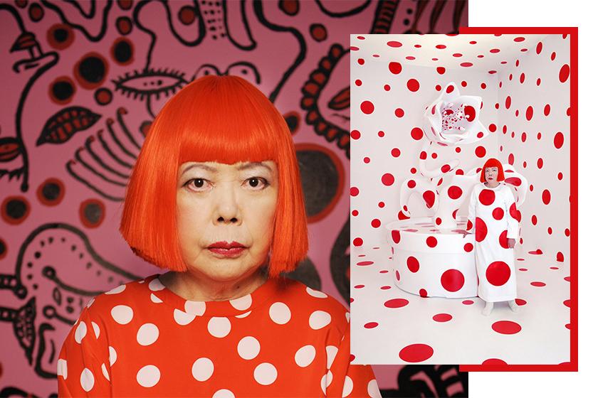 Yayoi Kusama documentary infinity and quote