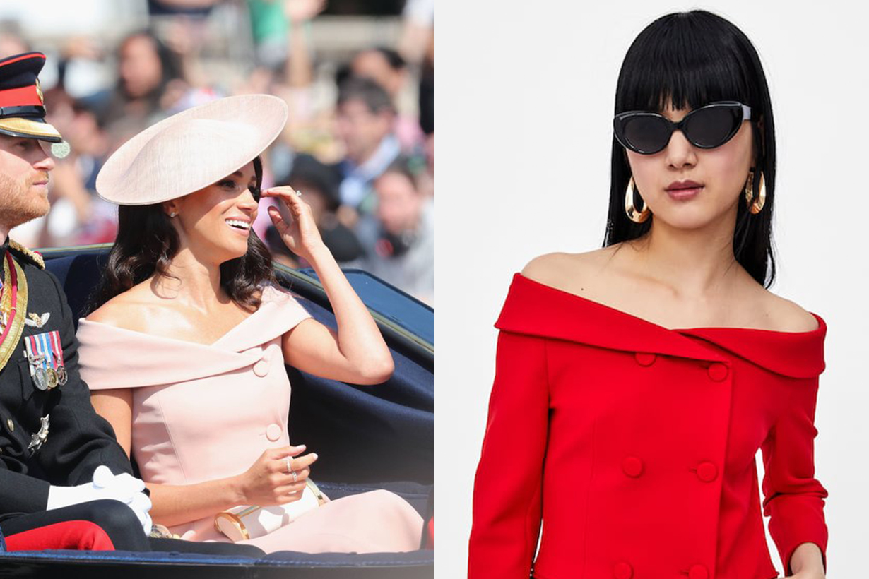 Zara Is Selling A Blazer That Looks Exactly Like Meghan's Trooping The Colour Dress