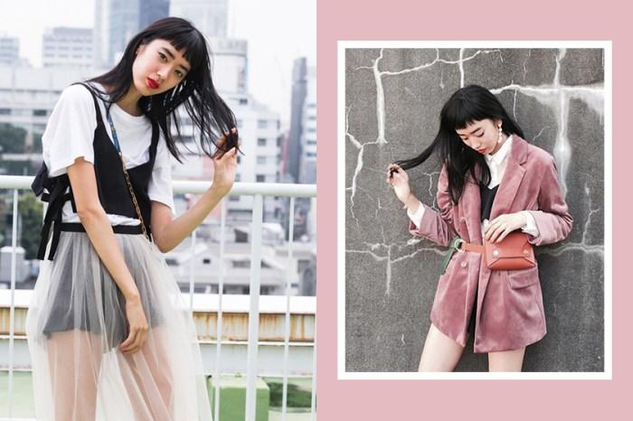 看完她 Instagram 上的日常穿搭,你終於相信日本女生是 100% 配搭高手!