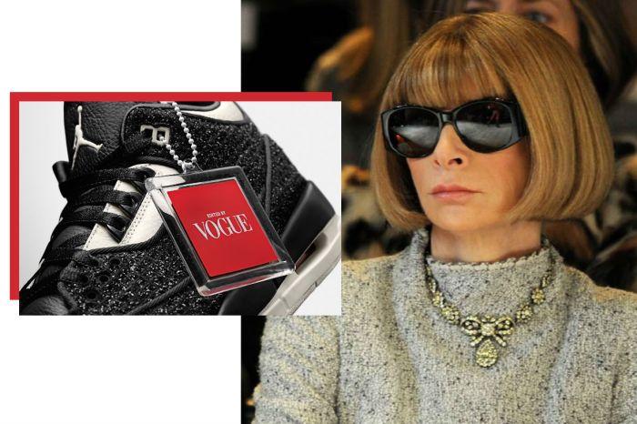 《Vogue》x Nike 第二波連乘釋出,整雙鞋滿滿的 Anna Wintour 元素!