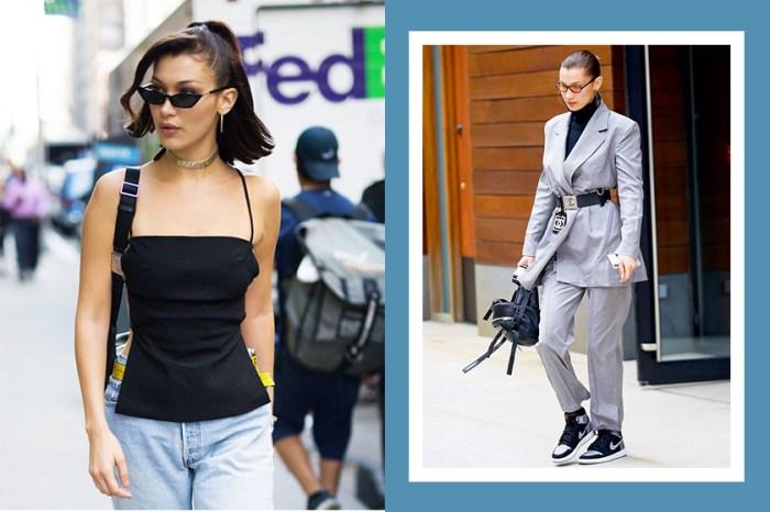 跟著 Bella Hadid  入手這 7 件單品,你也可穿出模特兒般的超強時尚氣場!