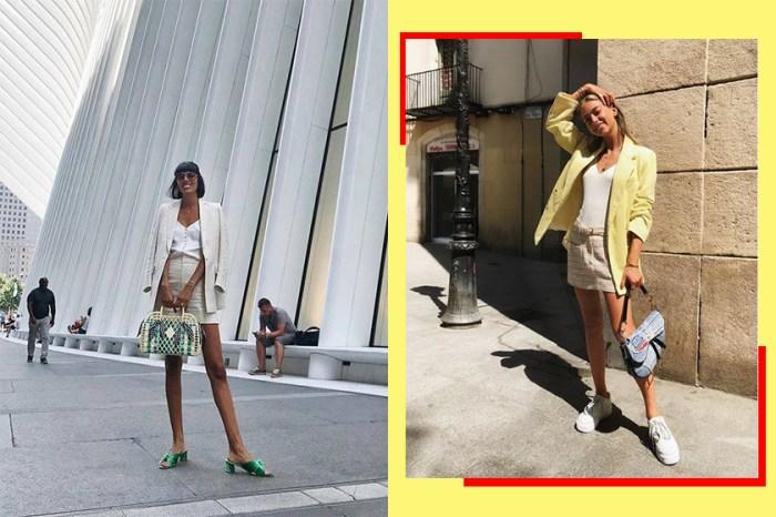 時尚又大氣!西裝也適用於炎夏,10+ 隨性辦公室造型靈感!