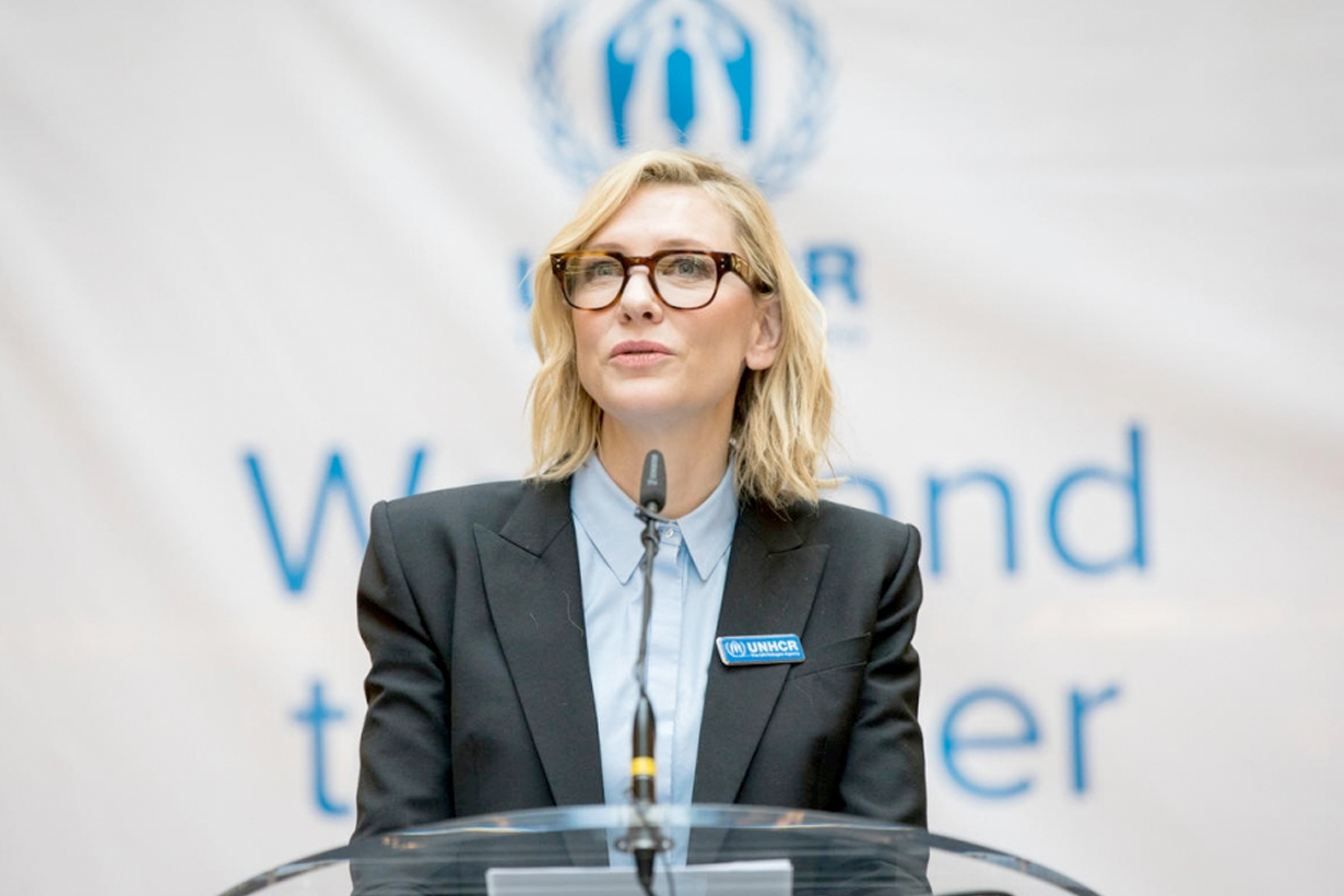 cate blanchett UN Speech hollywood rohingya