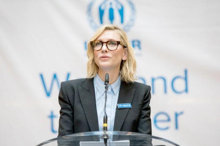 大螢幕後的 Cate:深入難民營,並在聯合國會議上發表了動人的一番話!