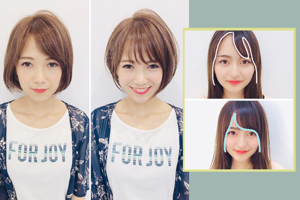 small face hairstyles tokyo hair stylist @masaosugaya bangs