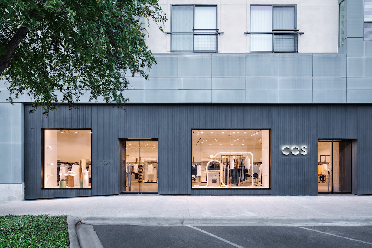 COS new store america texas beautiful classic shopping The Domain