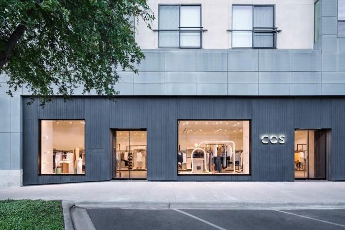 COS 美國全新店鋪落成,讓人怎麼樣都看不膩的極簡美學!