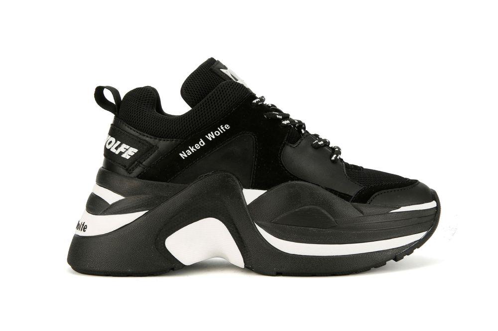 Gigi Hadid's favorite shoes naked wolfe track chunky sneaker lookbook