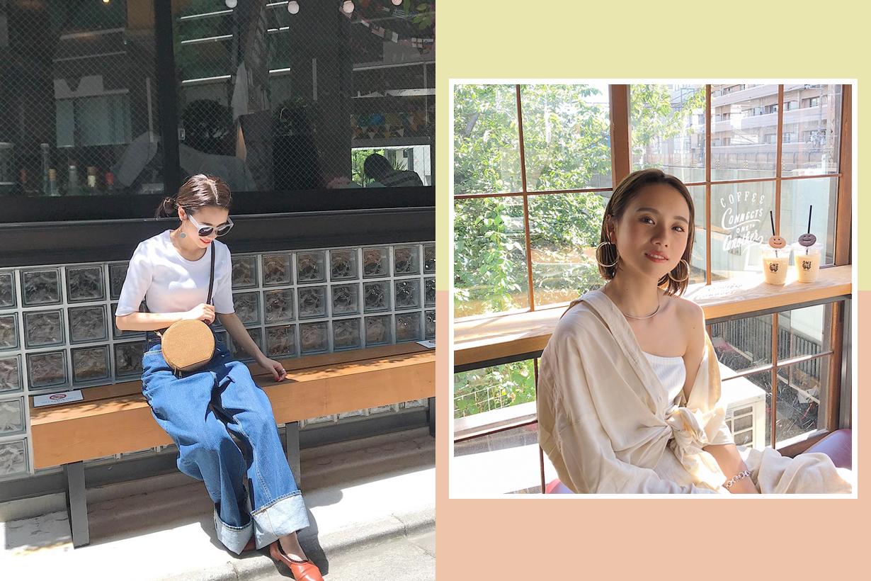 short girl styling tips japanese model ihara aoi