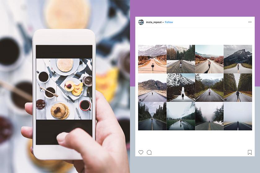 instagram account insta repeat not original or creative