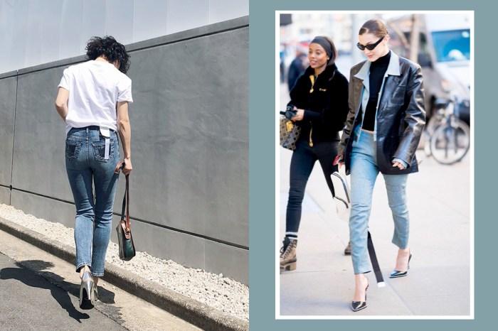 任誰都會愛上「這個」顯瘦、增高的小設計!因為它,窄腳牛仔褲即將回歸!