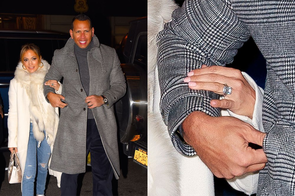 celebrities engagement rings 2019