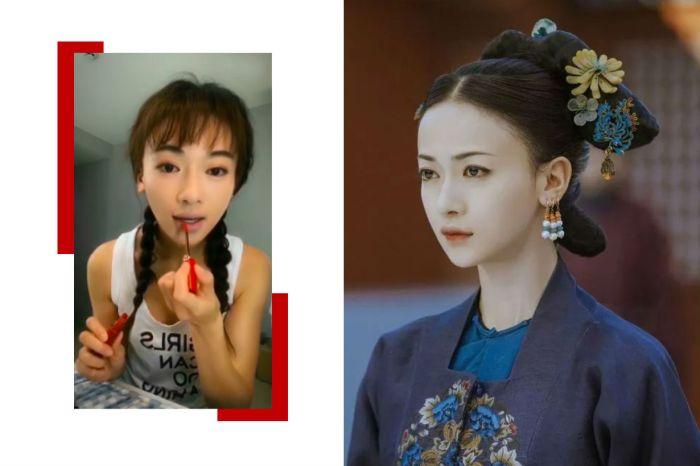 女主角魏瓔珞親自教學!40 秒就能畫出《延禧攻略》的氣質「絳唇妝」?