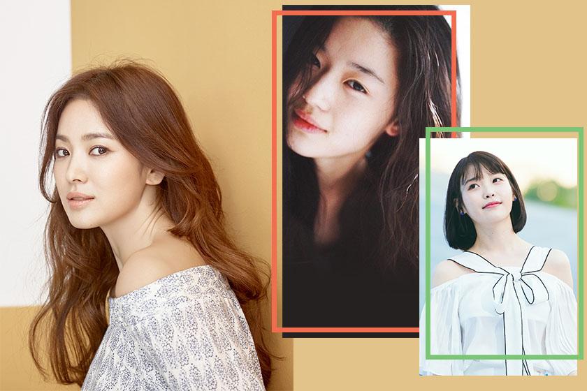 korean actress beauty transformation