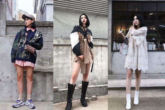 這韓國 IG 女孩是百變天后無誤!單憑穿搭就像換了個人