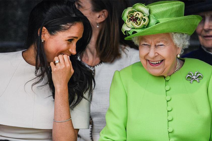 meghan markle birthday queen elizabeth connection