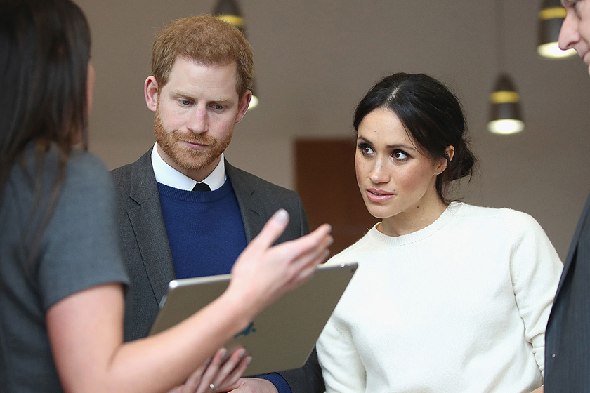 meghan markle getting pregnant 2018 royal tour australia