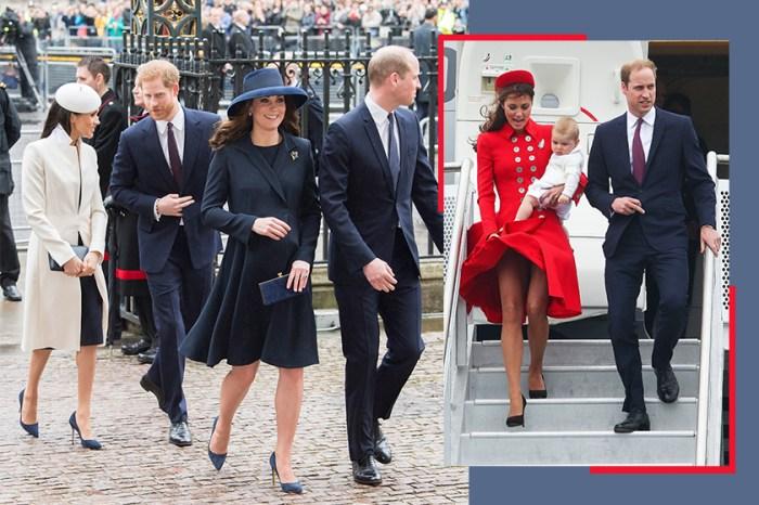 偷偷告訴你,凱特和梅根防止裙子被吹起的小秘密!