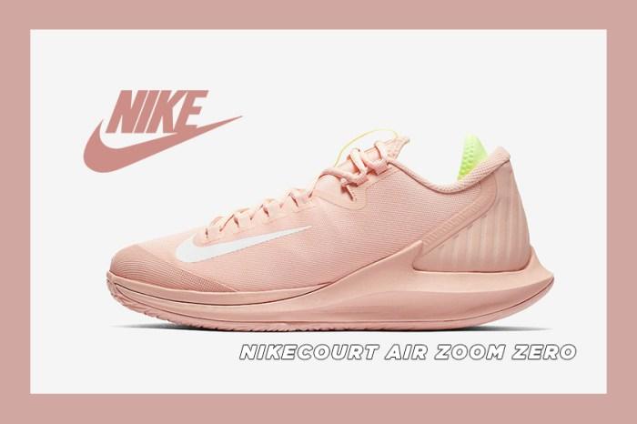 為夏日添上一抹清新的蜜桃粉色: NikeCourt Air Zoom Zero 即將推出全新配色!